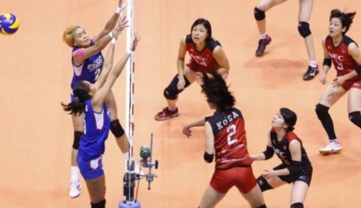 2016 アジアクラブ女子選手権 NECの頂点が近づいてきましたよ!