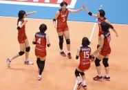 2016 アジアクラブ女子選手権 クオーターファイナルラウンド1試合目