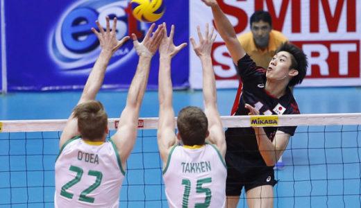 第5回アジアカップ男子大会 予選第3戦 石川祐希大活躍!