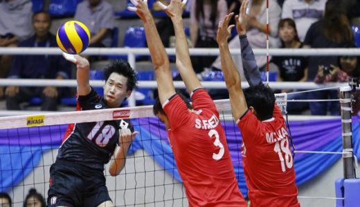 第5回アジアカップ男子大会 やはり石川祐希は素晴らしい!が。。。
