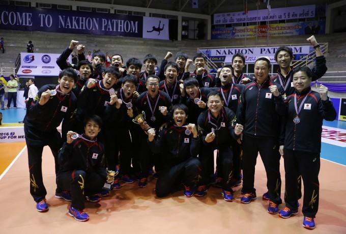 第5回アジアカップ男子大会 台湾撃破3位、石川祐希躍動!