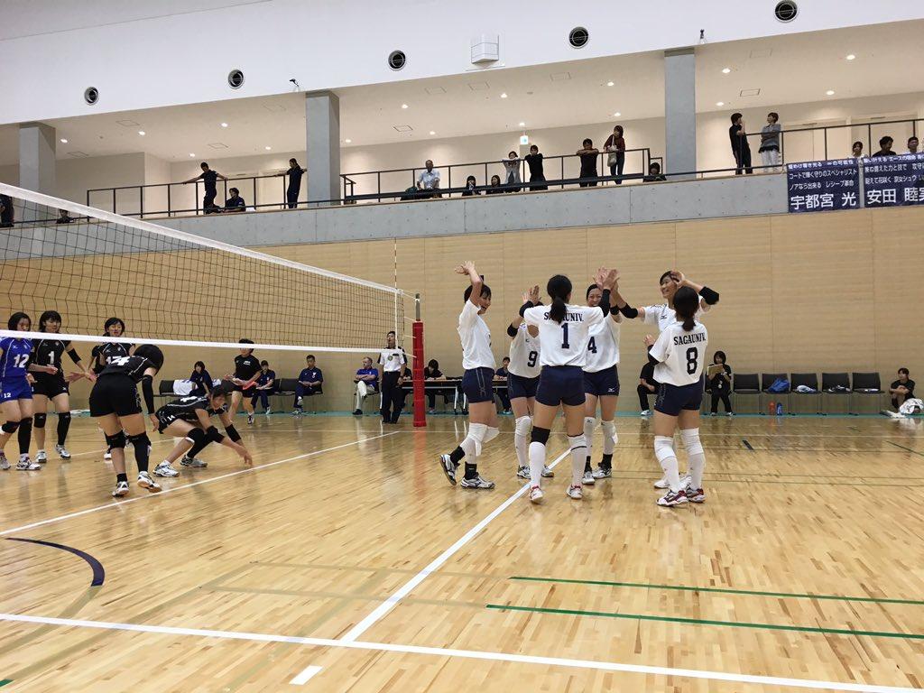 九州大学バレーボール 秋季リーグ1日目結果