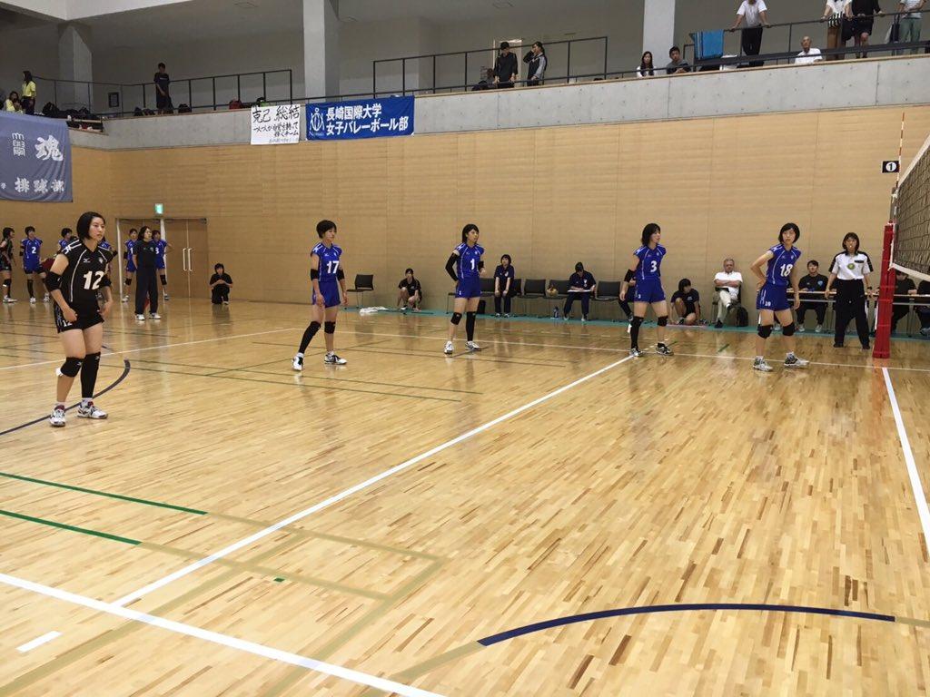 九州大学バレーボール 秋季リーグ2日目結果