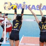 FIVB世界クラブ女子選手権大会2016 予選1回戦結果