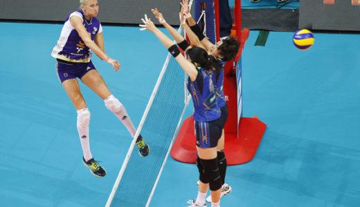 FIVB世界クラブ女子選手権大会2016 予選2回戦結果