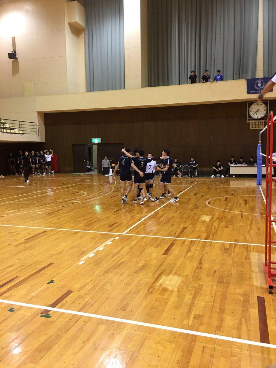 九州大学バレーボール 秋季リーグ4日目結果