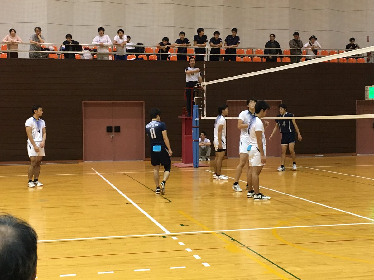 2016年度 九州大学バレー 秋季リーグ ファイナルラウンド 1.2日目試合結果
