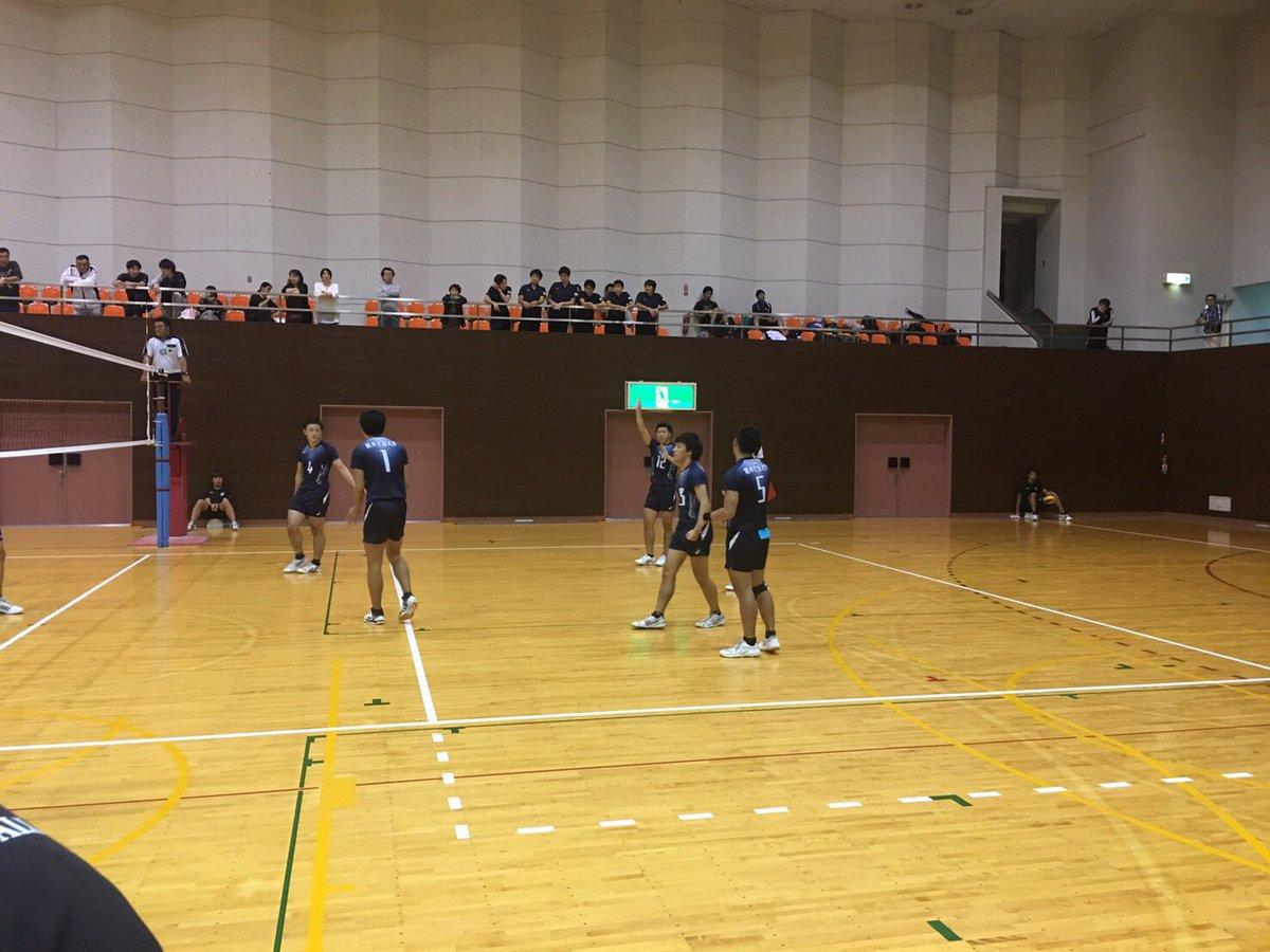 2016年度 九州大学バレー 秋季リーグ ファイナルラウンド 3日目試合結果