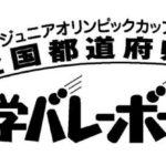 【組合せ決定!】JOCジュニアオリンピックカップ 第30回全国都道府県対抗中学バレーボール大会