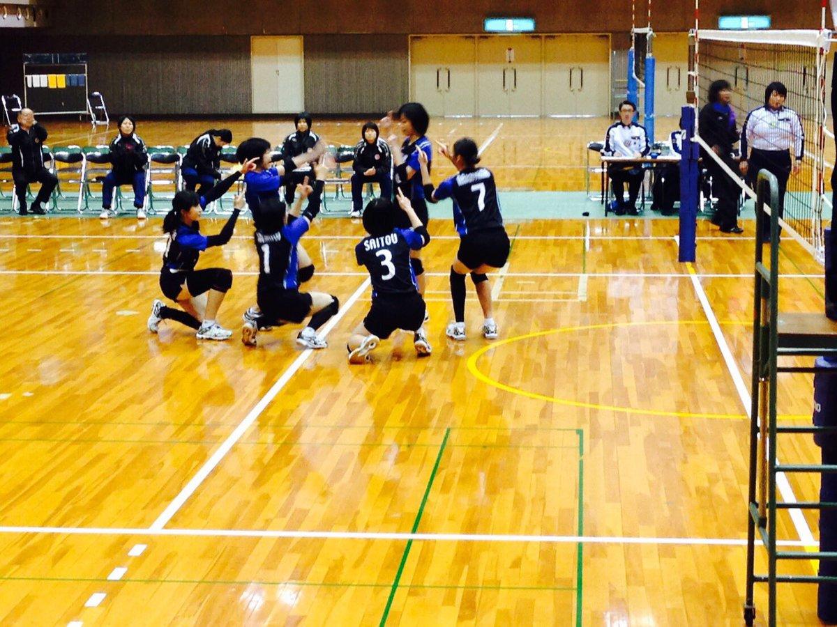 平成28年度 西日本大学バレーボール5学連女子選抜対抗戦