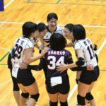 【準々決勝試合結果速報】全日本バレーボール大学女子選手権大会(全日本インカレ)