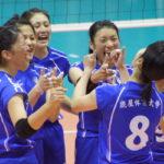 【1日試合結果速報】全日本バレーボール大学女子選手権大会(全日本インカレ)