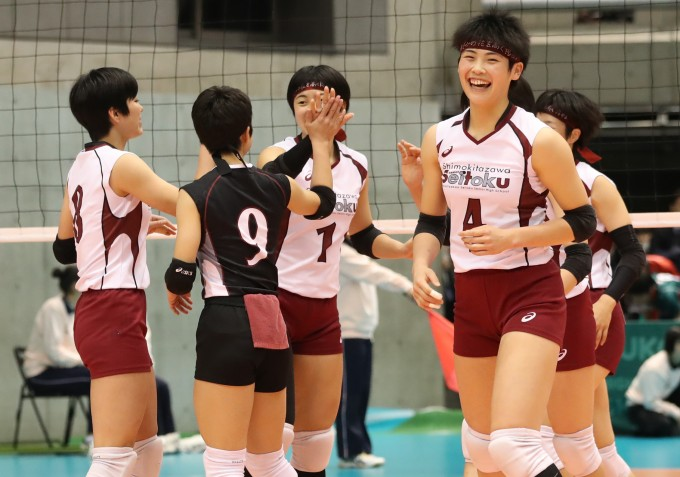 【春高バレー】第69回全日本バレーボール高等学校選手権大会 女子3回戦/準々決勝試合結果