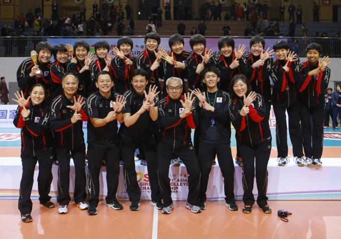 【完全優勝!6連覇!】第11回アジアユース女子選手権大会(U-18)