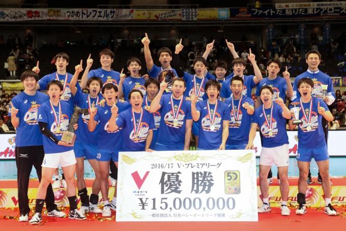 【女子優勝 NEC!男子優勝 東レ!】V・プレミアリーグ ファイナル試合結果