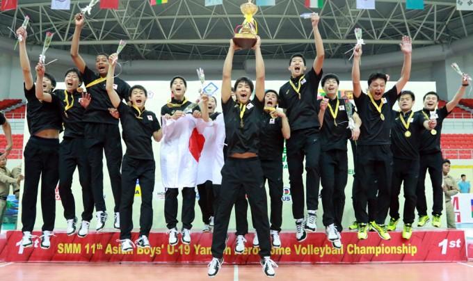 【女子に続き男子も完全優勝!】第11回アジアユース男子選手権大会(U-19)