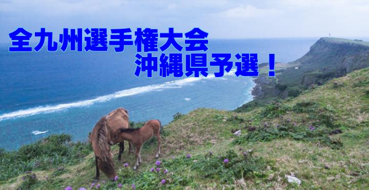 【高校:組合せが決まりました!】第62回全九州バレーボール選手権大会 沖繩県予選大会