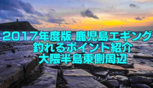 【知らなきゃ損する!】2017年度版 鹿児島エギング 釣れるポイント紹介 大隈半島東側周辺