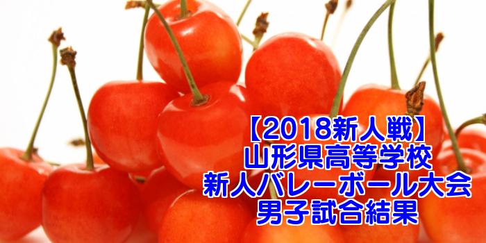 【2018新人戦】山形県高等学校新人バレーボール大会 男子試合結果