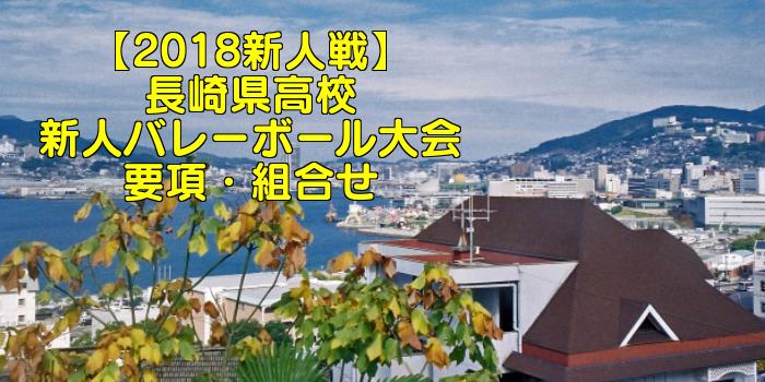 【2018新人戦】長崎県高校新人バレーボール大会 要項・組合せ