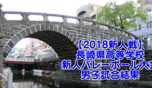 【2018新人戦】長崎県高等学校新人バレーボール大会 男子試合結果