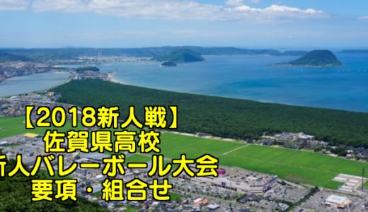 【2018新人戦】佐賀県高校新人バレーボール大会 要項・組合せ