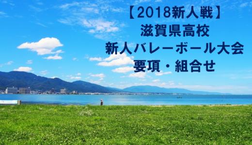 【2018新人戦】滋賀県高校新人バレーボール大会 要項・組合せ