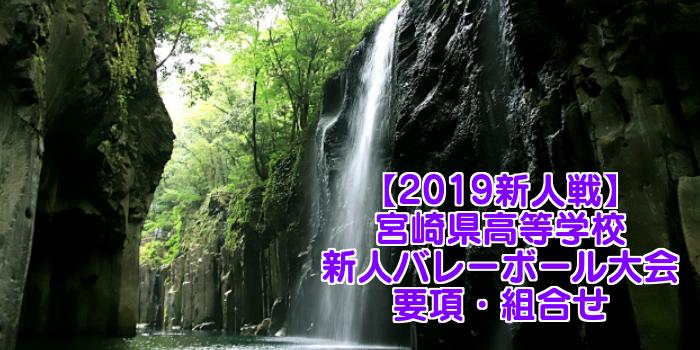 【2019新人戦】宮崎県高等学校新人バレーボール大会 要項・組合せ