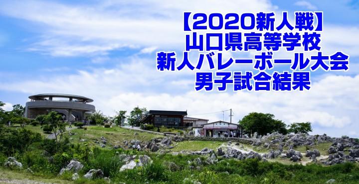 【2020新人戦】山口県高等学校新人バレーボール大会 男子試合結果