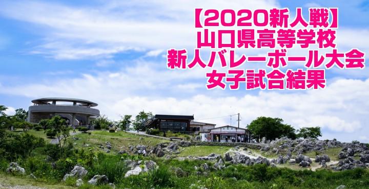 【2020新人戦】山口県高等学校新人バレーボール大会 女子試合結果
