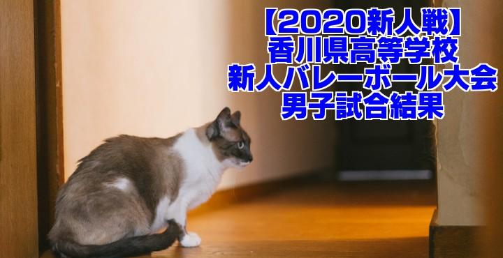 【2020新人戦】香川県高等学校新人バレーボール大会 男子試合結果