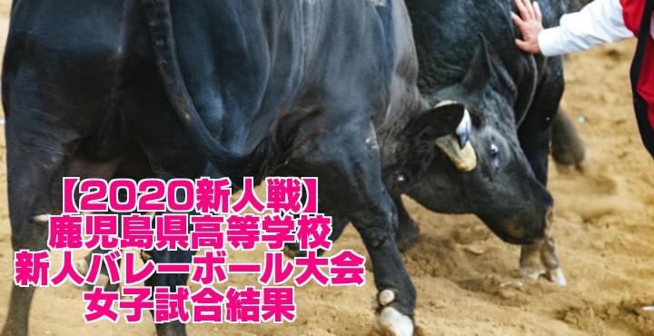 【2020新人戦】鹿児島県高等学校新人バレーボール大会 女子試合結果