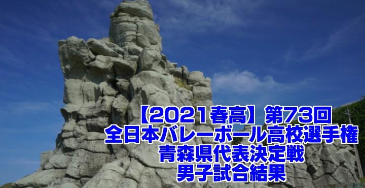青森 2021春高バレー県予選|第73回全日本バレーボール高校選手権大会 男子試合結果