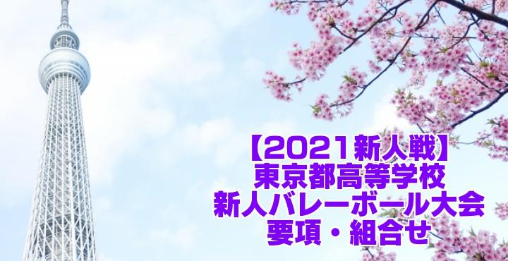 東京 2021新人戦|令和2年度高校新人バレーボール大会 要項・組合せ