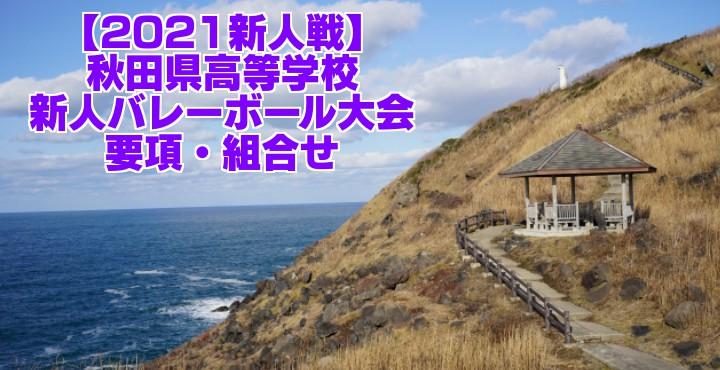秋田 2021新人戦 令和2年度高校新人バレーボール大会 要項・組合せ