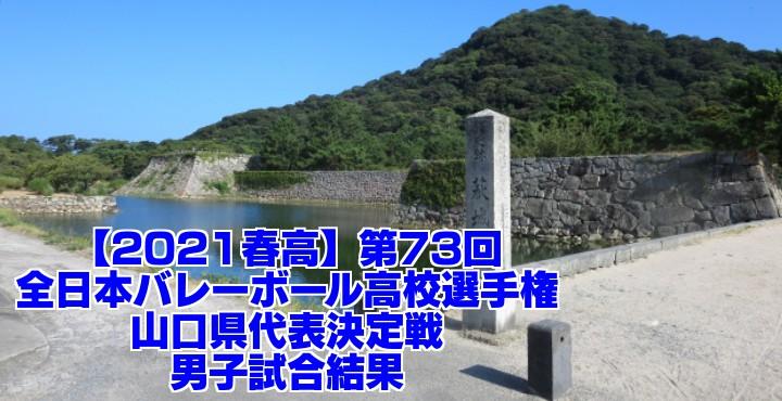 山口 2021春高バレー県予選|第73回全日本バレーボール高校選手権大会 男子試合結果