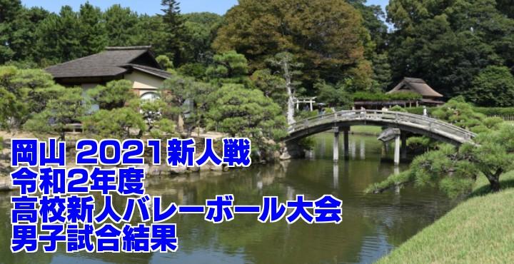 岡山 2021新人戦|令和2年度高校新人バレーボール大会 男子試合結果