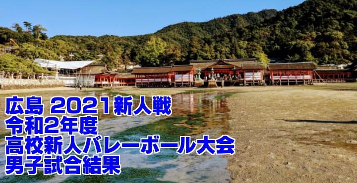 広島 2021新人戦|令和2年度高校新人バレーボール大会 男子試合結果