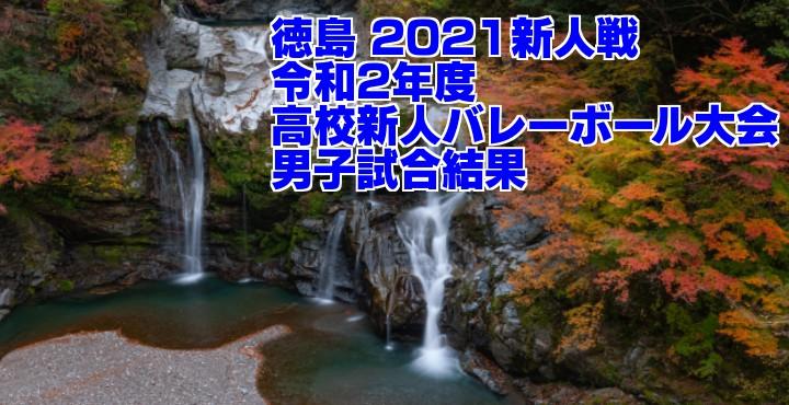 徳島 2021新人戦|令和2年度高校新人バレーボール大会 男子試合結果