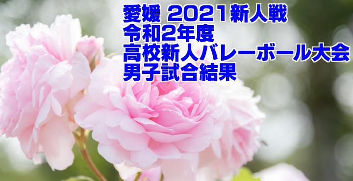 愛媛 2021新人戦|令和2年度高校新人バレーボール大会 男子試合結果