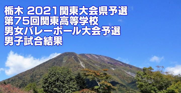 栃木 2021関東大会県予選|第75回関東高等学校男女バレーボール大会予選 男子試合結果